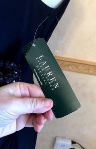 Ralph Lauren Dresses - Ralph Lauren Navy Sequin Dress
